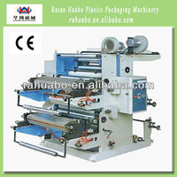 Huabo Machinery automatic flexo plastic film printing machine