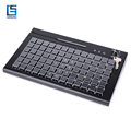 78 Keys Keyboard with keyboard cover and 3 tracks card reader KBC78