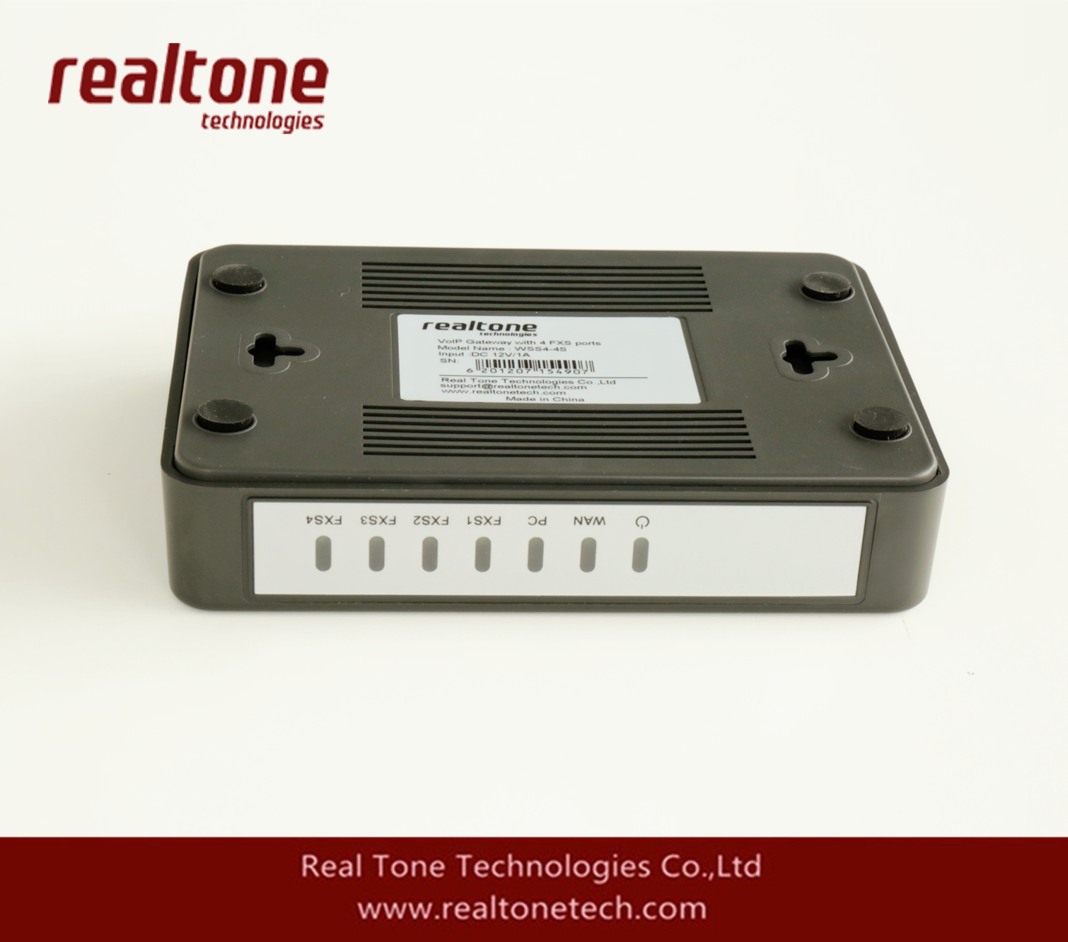 New version ATA for 2FXS+2FXO port from realtone