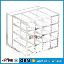 high clear acrylic make up organizer storage box