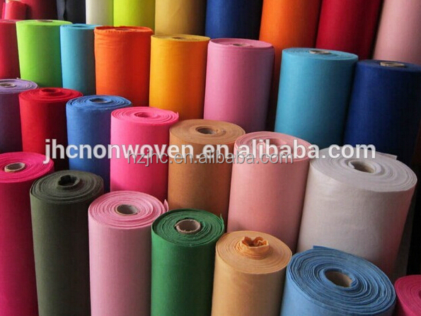 JHC Needle punched non woven felt is roll manufacturer