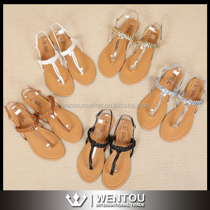 Handmade Wholesale Women Leather Sandals