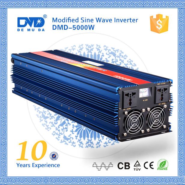 Off grid high frequency power inverter dc 12v ac 220v 5000w 10000w
