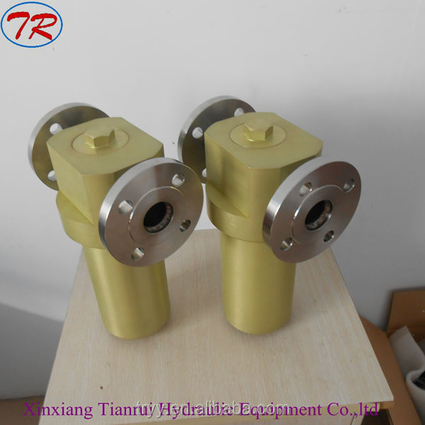 RYLA-40 low pressure aviation fuel oil filter housing for aviation fuel.