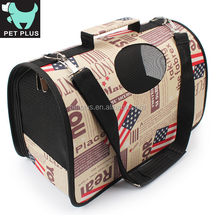 Indoor & Outdoor Pet Carrier Bag Travel Pet Crate Kennel Dog for air carrier