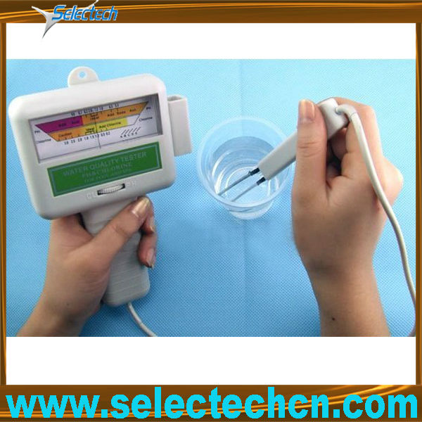 Protable PH and swimming chlorine test for pools spa water SE-PC101