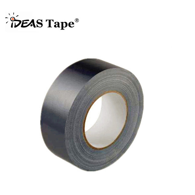 "Duct Tape, 9.0 mils 2 "" width black cloth as backing"
