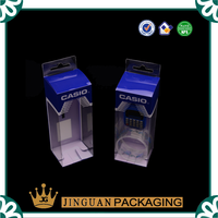 Transparent PVC material plastic gift box for children watch packaging