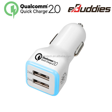 9v 2a car charger with Qualcomm Certified