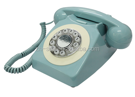 Hot new products for electroplating antique phone features old model telephones