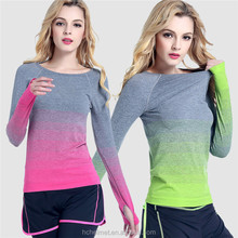 RIGWARL Women Gym Breathable Dry Quick Hooded Yoga Shirts Ropa Deportiva Women's Sport Shirts Fitness Long Sleeve Clothing