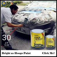1K Basecoat Series silver Pearl Color Car Crystal Coating paint