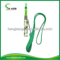 Beautiful,portable e-cigarette ego tank lanyard,ego lanyard /Necklace with ring clip