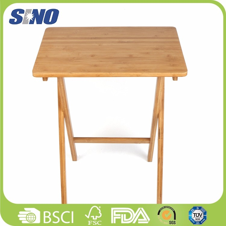 Hot sale fashionable home furniture bamboo folding stool outdoor Living Room table