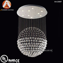 Crystal Chandelier Round LED Pendant Light