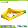 Hot sale cartoon banana shaped cute mini silicone coin purse bag with factory price