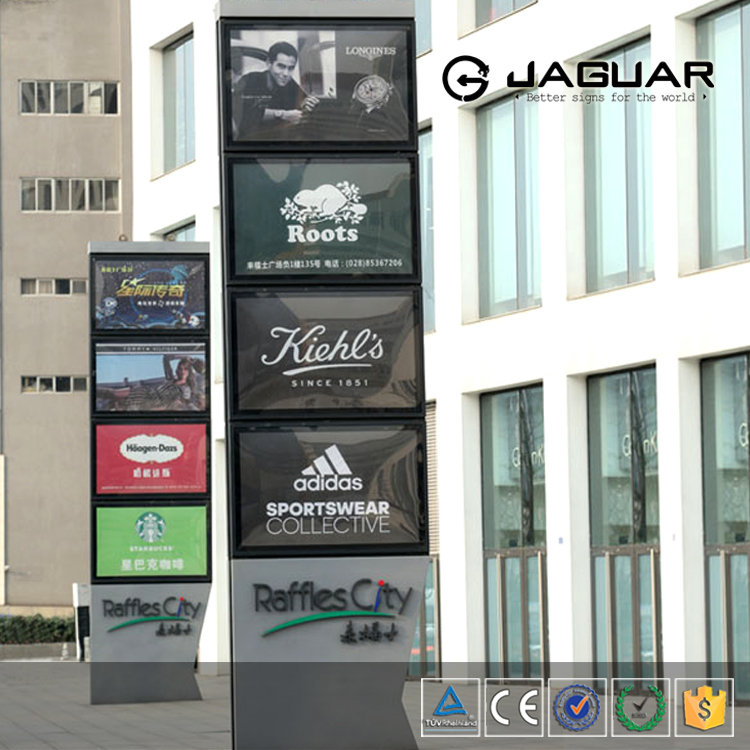 Factory manufacturing led pylon sign with best price