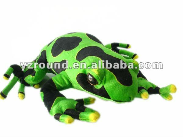 stuffed simulation tree frog