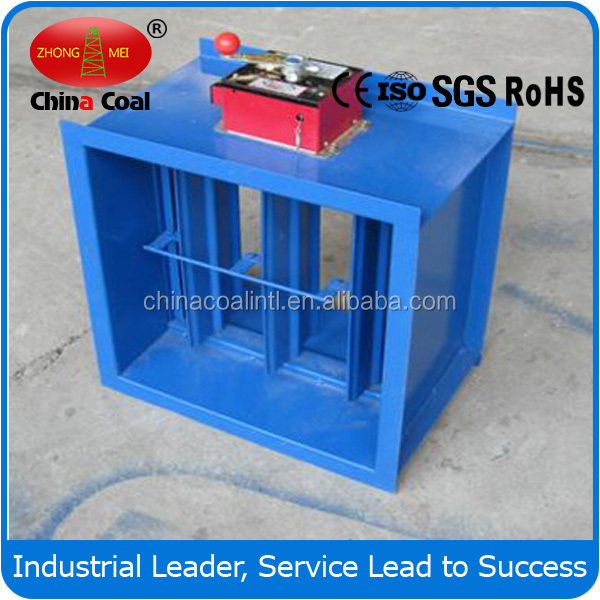 Hvac System Galvanized Steel Motorized Air Duct Fire Proof