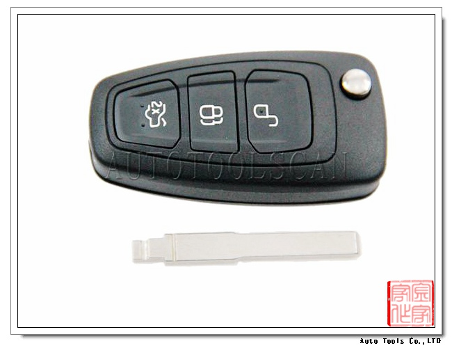 hot selling 3 button car key for Ford Focus 433mhz key card 4d60 AK018032
