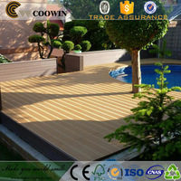 Outdoor pool cover cedar wooden plastic cheap prices wpc slats