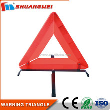Durable traffic green triangle for safety
