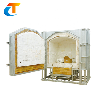 Electric Type Shuttle Ceramic Pottery Kiln