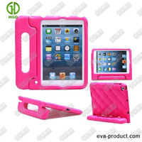 Factory supply custom case for shockproof for ipad mini cases with handle Pink