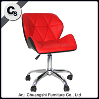 Pu red leather office chair/chineses armchair
