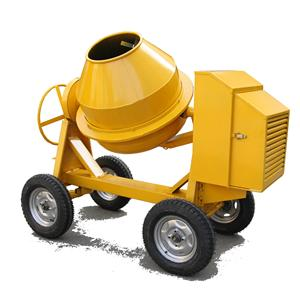 Mobile Concrete Mixer Machine 350L 400L 500L Small Gasoline Diesel Seft-Load Concrete Mixer