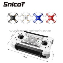 124 4CH 6Axis Gyro Pocket Mini RC Drone With Switchable Controller RTF