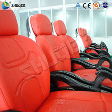 Motion seat 3d 4d 5d 6d cinema theater movie system suppliers