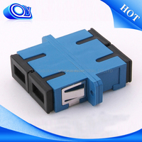 china wholesale market agents small d adapter , fiber optic y adapter , fiber optic adapter types