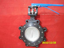 handlever double eccentric high performance butterfly valve