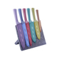 Professional supplier 5 pcs non-stick coating knife set