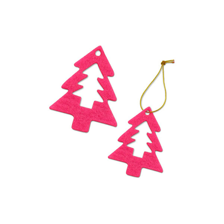 Merry Christmas Festive Custom Felt Christmas Decorations Ornaments