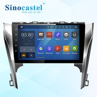 Car Electronic 2 din Car DVD Player GPS Navigation for Camry car 10.1 inch gps Car Radio In Dash Bluetooth Stereo Video Map