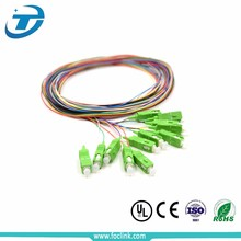0.9mm Single Mode SC PC APC FTTH G652d bundle Optical fiber Pigtail