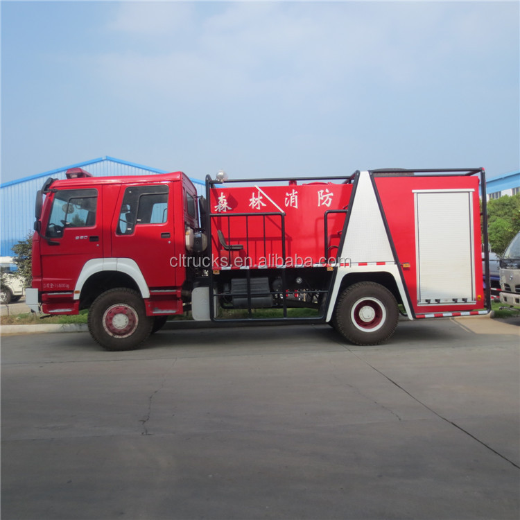Bottom price OEM airport fire fighting truck