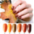 RONIKI professional pretty led uv gel soak off series gel pumpkin gel polish