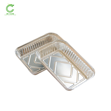 Complete production line food aluminium foil hot cooking oil container