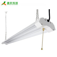 Super bright 72w linkable 8ft led garage shop lights
