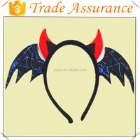 wholesale halloween bat plastic animal party headband for kids