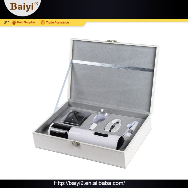 Elegant Fashion Electronic Gift Items Wine Opener With Gift Box