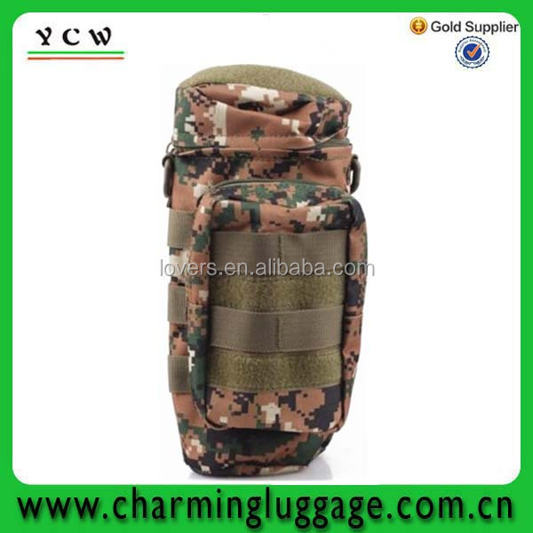 cool thermo insulated water bottle holder bag/wine bottle gel cooler bag
