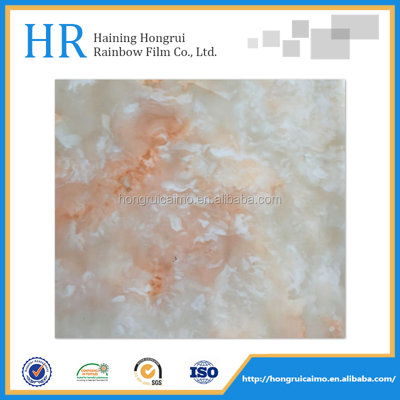 glitter film polyurethane heat transfer film for decoration panel