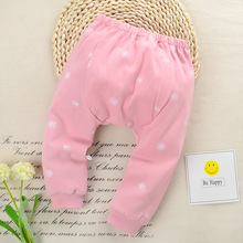 Custom Cheap Cute printing Newborn Baby Pants