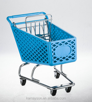 Hot sale!Mini gift plastic shopping trolley / cart for Children
