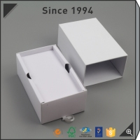 Custom made Rigid Paper watch box Manufacturing By Machine