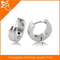 stainless steel earring covering the ear,pictures of fashion earring,hoop huggie earring piercing